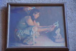 Corn Ceremony painting.