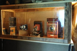 Cameras that Irving Couse used in his work.