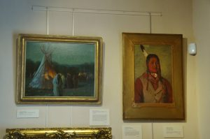 Two among many more excellent paintings in the gallery.